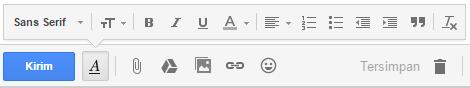 Cara Ganti Font Email