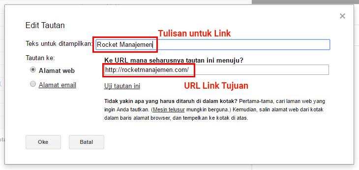 Kirim Link Lewat Email