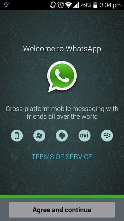 Halaman Depan Whatsapp