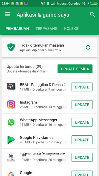update whatsapp playstore