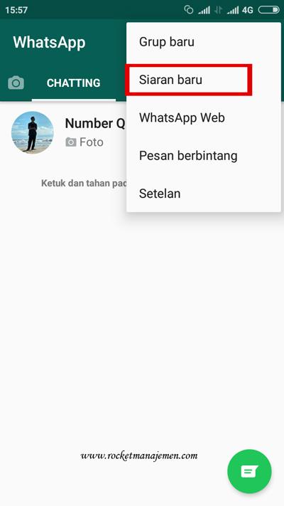 Kirim broadcast whatsapp