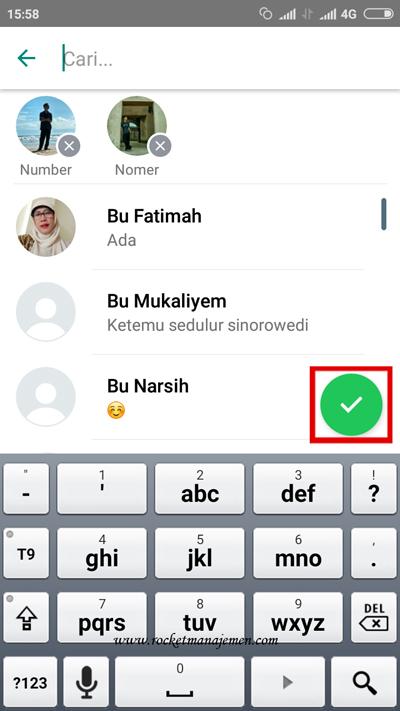 cara kirim pesan broadcast di whatsapp