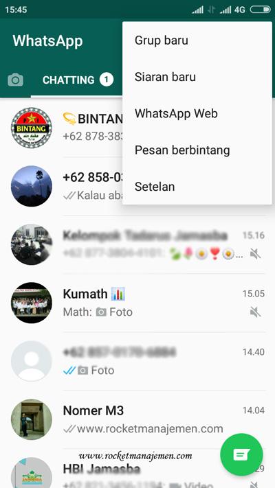 notifikasi pada whatsapp