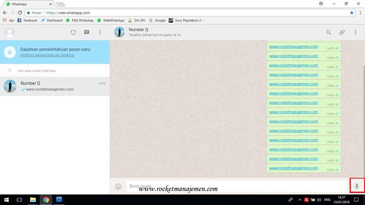 kirim pesan suara di whatsapp web