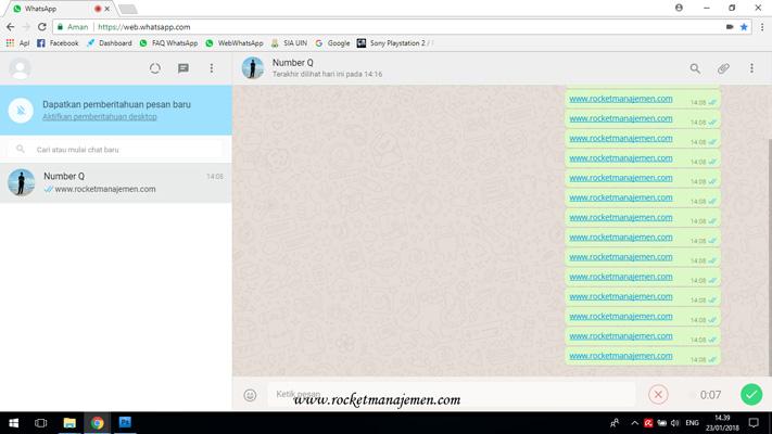 mengirimkan pesan suara whatsapp web