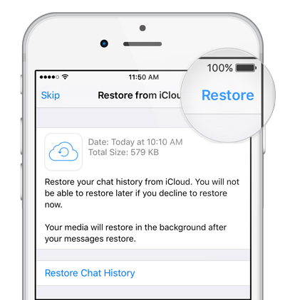 restore chat yang hilang