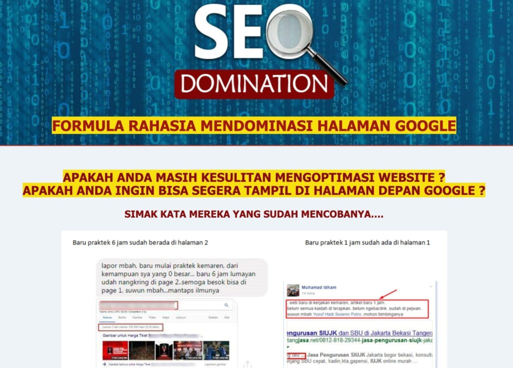 Kursus SEO Domination