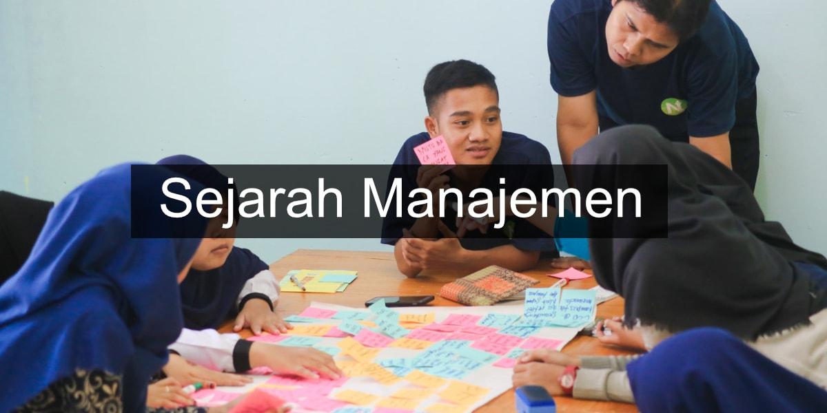 apa sejarah manajemen