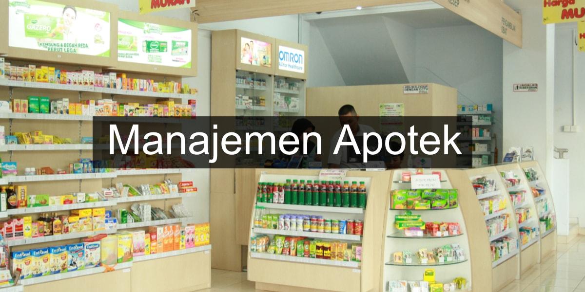 cara manajemen apotek