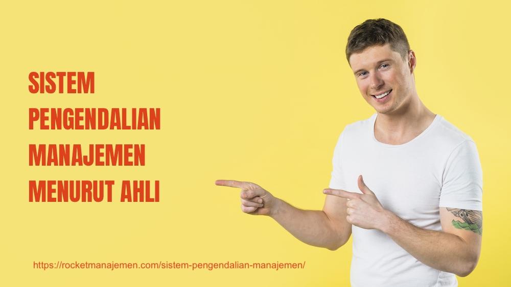 sistem pengendalian manajemen menurut ahli